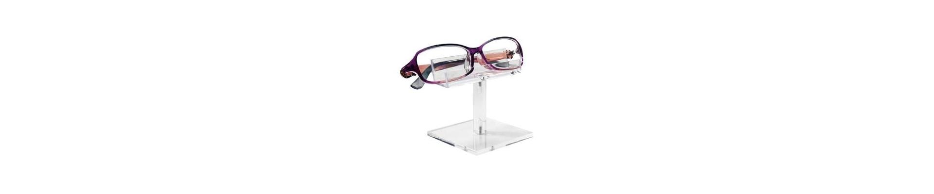 Eyewear Displays - Wood or Methacrylate for 10, 12, 40 & 60 units.